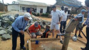Projet d'adduction d'eau à Makénéné
