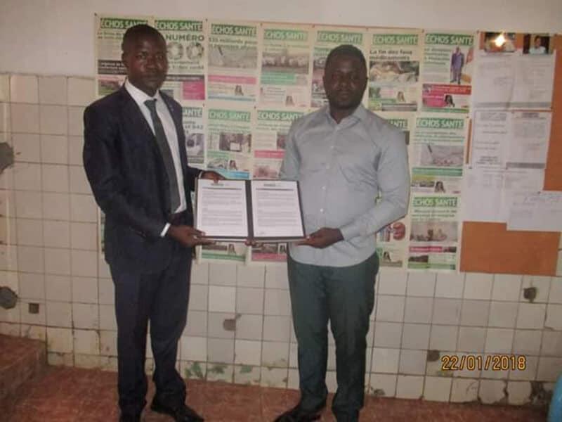 Partenariat DYPAMAK – Journal Échos Santé