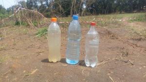 adduction d'eau potable: essais de pompage