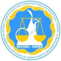 Logo du Réseau Camerounais des organisations des droits de l'homme (RECODH)